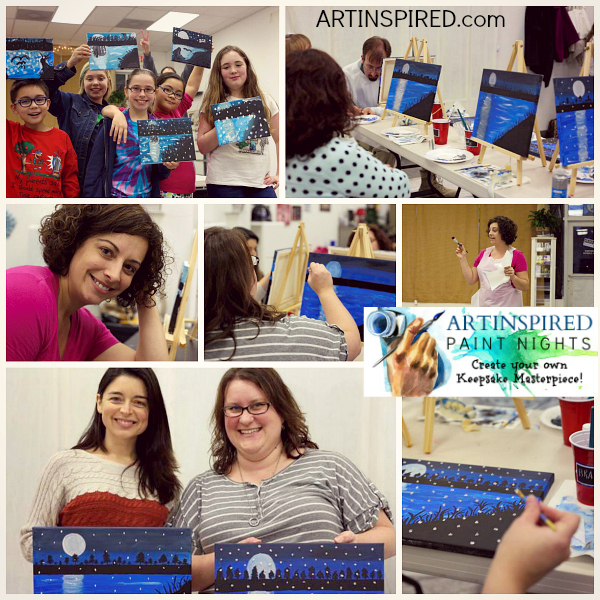 ARTINSPIRED PAINT NIGHTS, Learn to paint step by step, art classes in Hampton Roads. We love teaching people and the price is perfect for any budget. Leave with your own keepsake masterpiece!