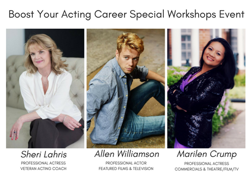 Boost Your Acting Career Special Workshops Event (1)