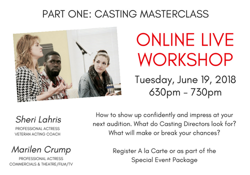 Boost Your Acting Career Special Workshops Event (2)