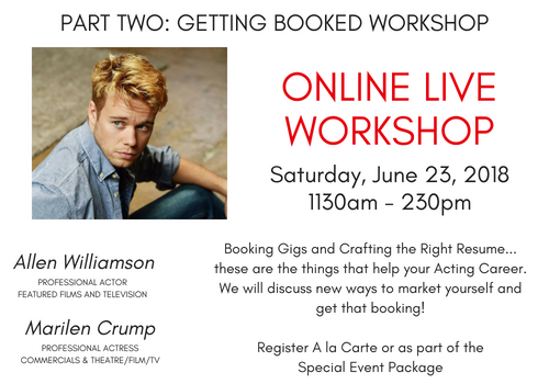 Boost Your Acting Career Special Workshops Event (3)